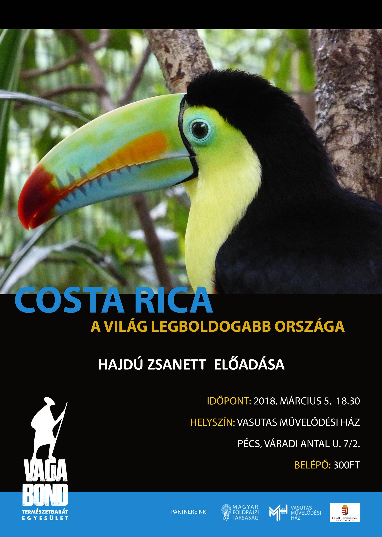 Vagabond Természetbarát Egyesület: Costa Rica