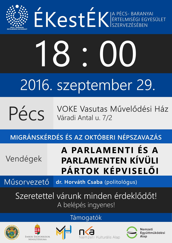 ÉKestÉK - Migránskérdés és az októberi népszavazás
