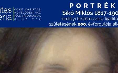 Sikó Miklós erdélyi festőművész születésének 200. évfordulója alkalmából rendezett Portrék című kiállítás megnyitója