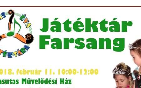 Játéktár Farsang Pécsett a Vasutasban